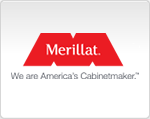 Merillat Cabinetry Authorized Distributor Logo